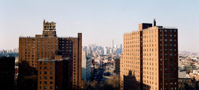 Brooklyn skyline during the day.