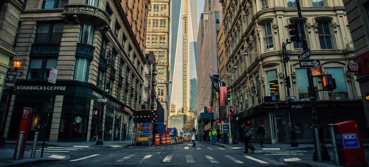 Manhattan street in one of the renter-friendly neighborhoods in NYC,