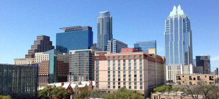 Downtown Houston during daytime.