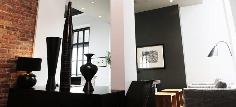 Interior design of an apartment.