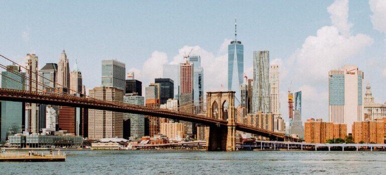 Panoramic view of New York